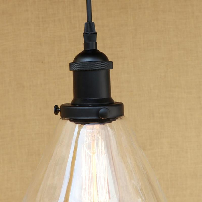 XANTHI -  1-Light Edison Glass Dome Pendant