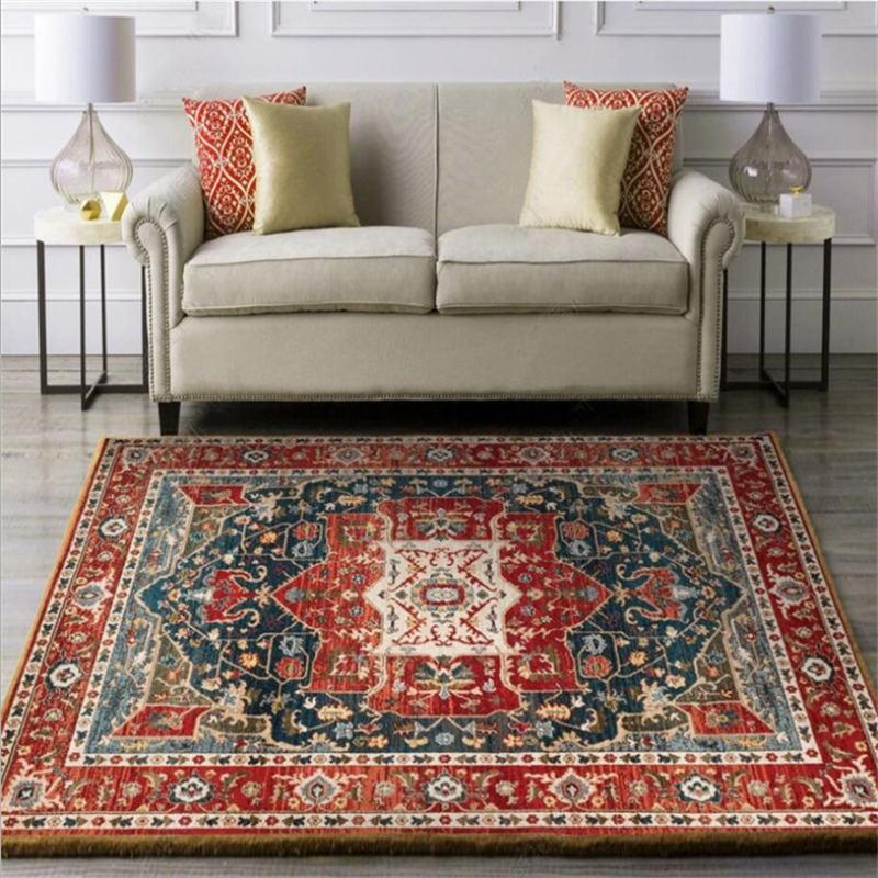 red-vintage-rug-in-a-living-room-Zavato-Home