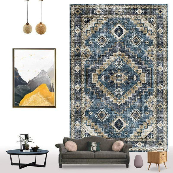 persian-vintage-rug-on-the-wall-Zavato-Home