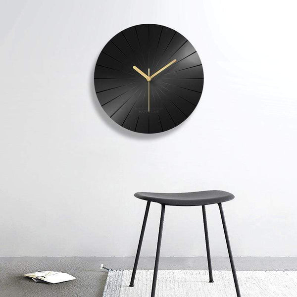pure-black-wall-clock-Zavato-Home