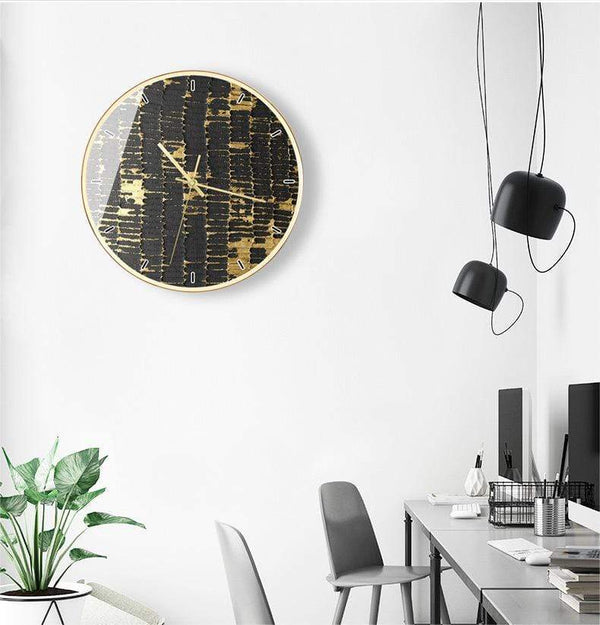 Golden Times Nordic  Wall Clock