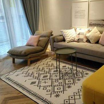 ethnic-modern-rug-in-a-living-room-Zavato-Home