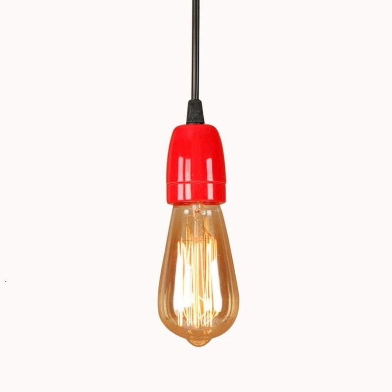 red-pendant-lighting-with-an-edison-lamp-Zavato-Home