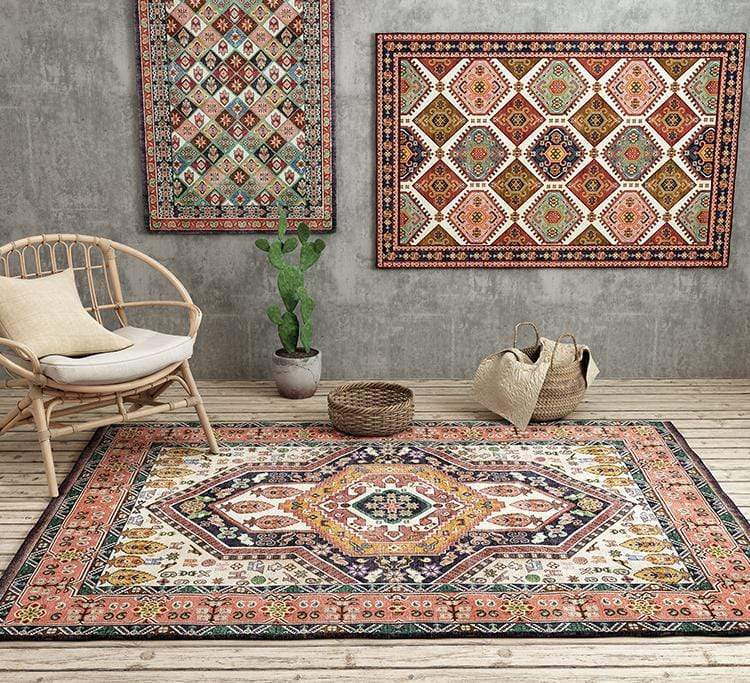 vintage-rugs-on-the-floor-&-wall-Zavato-Home