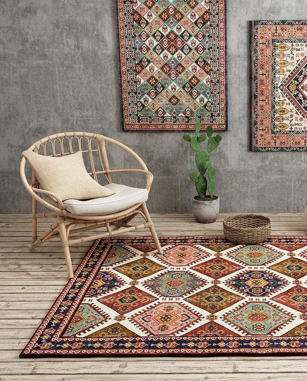 moroccan-rug-on-the-floor-&-walls-Zavato-Home