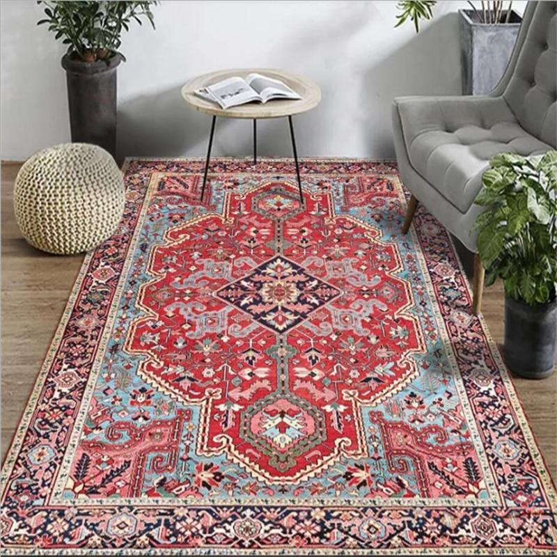 multicolor-vintage-rug-in-a-living-room-Zavato-Home