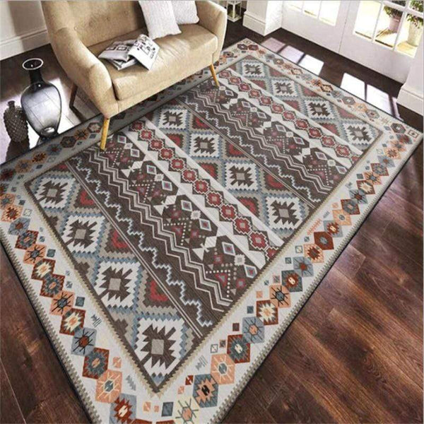 vintage-rug-on-hardwood-floor-Zavato-Home