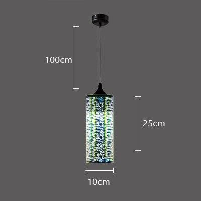 Lille LED Glass Pendant Light