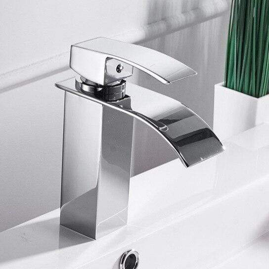 Cosenza Waterfall Bathroom Sink Faucet