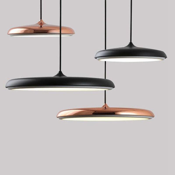 PYRGOS - Scandinavian Disc LED Pendant