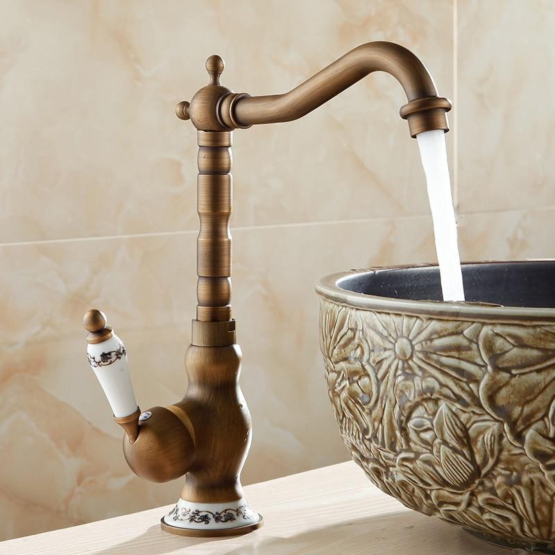 Vernazza Antique Bathroom Sink Faucet