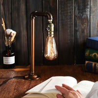 Vintage Industrial Accent LampTable Lamp