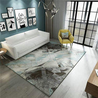 Moving Fossil Geometric Rug