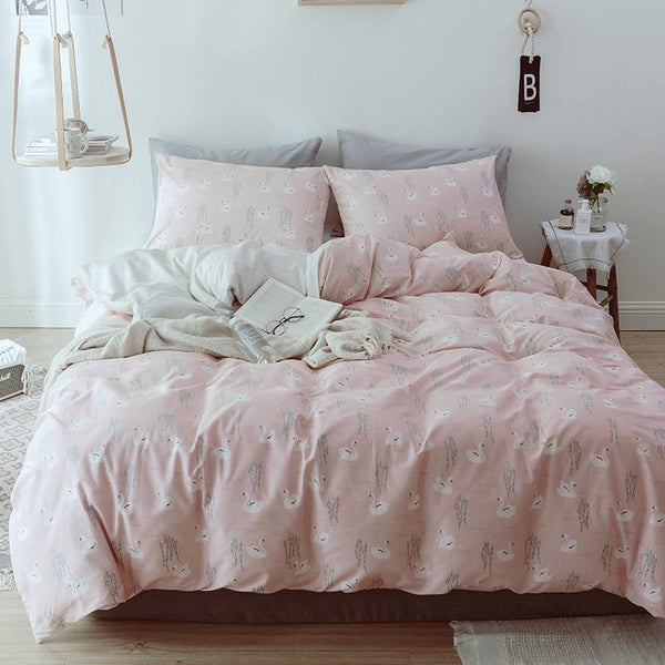 Sorell Floral Print Ultra Soft Cotton Bedding Set