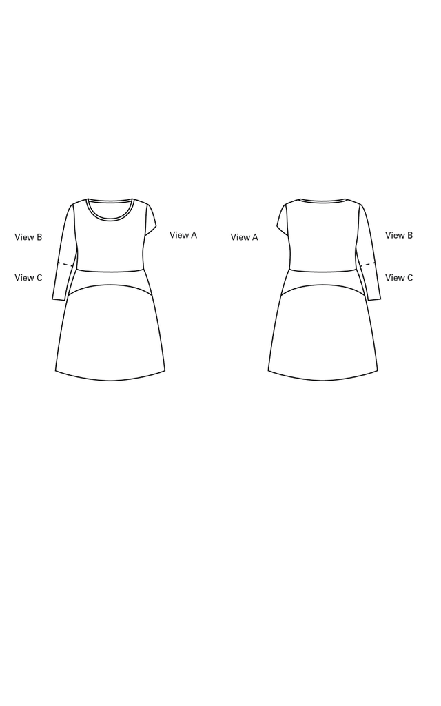 Cashmerette Washington Dress Paper Sewing Pattern