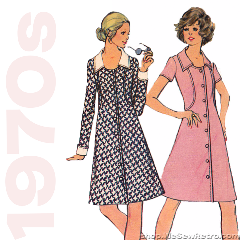 McCalls 3499 Vintage Sewing Pattern - 1970s Dress, Tunic, Pants