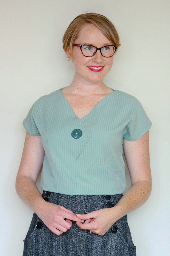 Jennifer Lauren Afternoon Blouse and Shift PDF Sewing Pattern