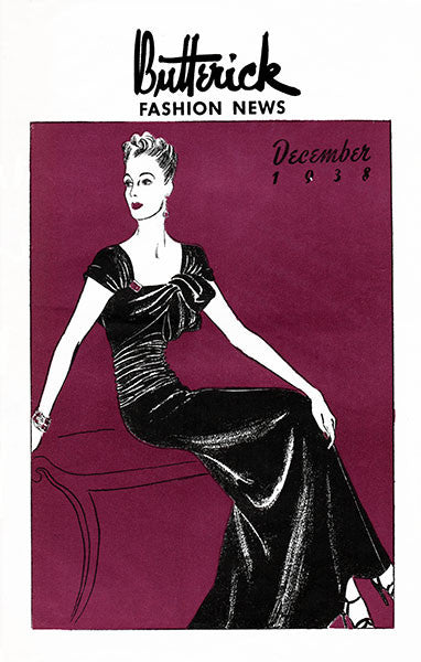 PDF Download - 1938 Butterick Fashion News Pattern Catalog