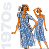1970s Sundress Vintage Sewing Pattern - Butterick 5317