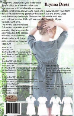 Sew Liberated Brynna Dress Paper Sewing Pattern