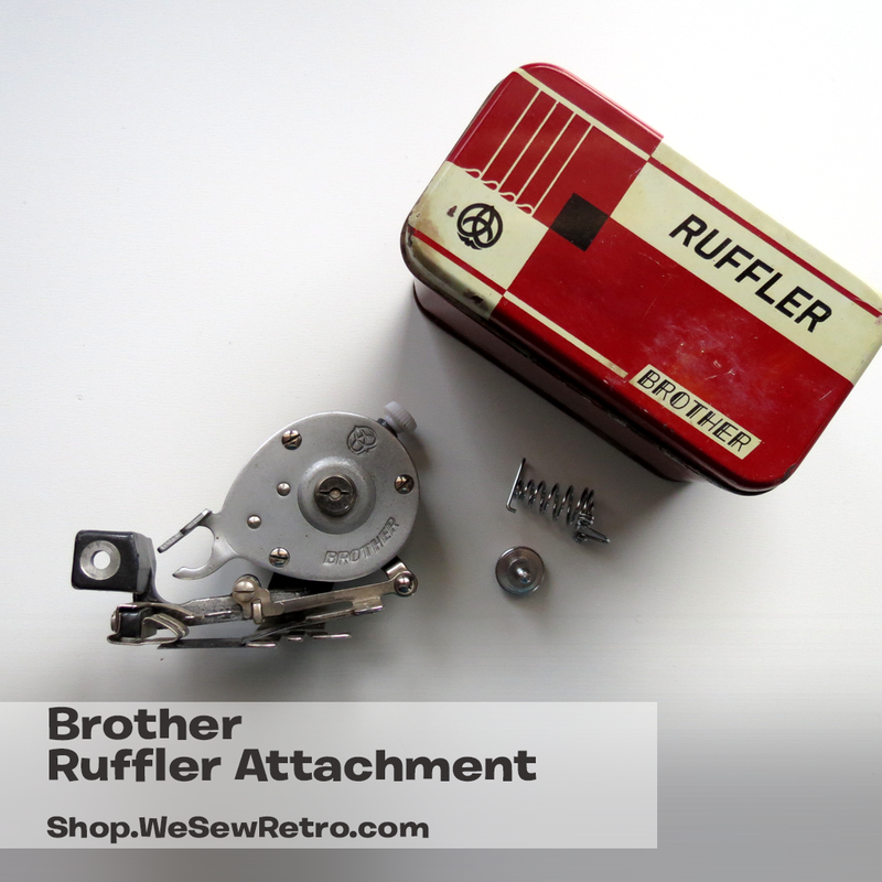 Brother Ruffler Sewing Machine Attachment