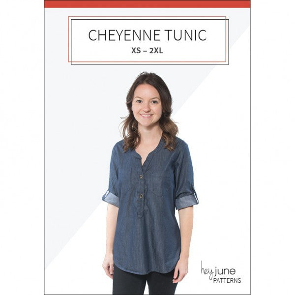 Hey June Cheyenne Shirt Paper Sewing Pattern