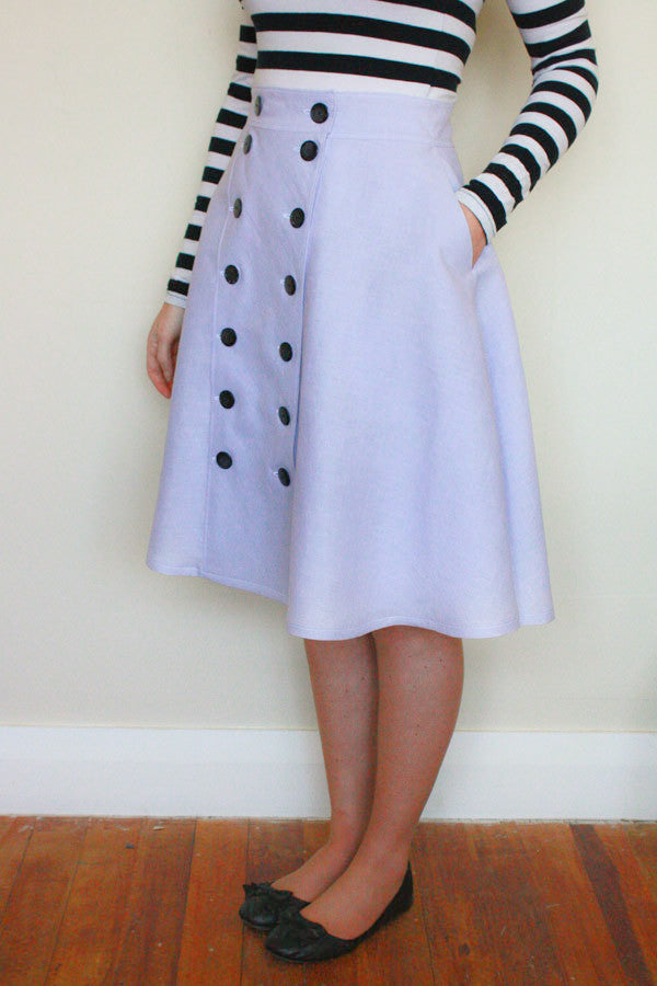 Jennifer Lauren Cressida Skirt PDF Sewing Pattern