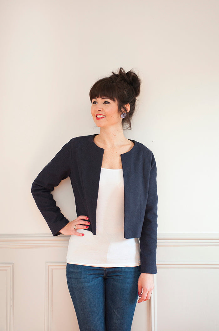 Sew Over It Coco Jacket Sewing Pattern - Chanel Inspired Jacket Pattern