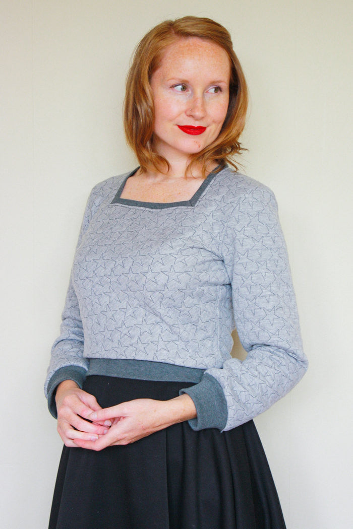 Jennifer Lauren Enid Sweater PDF Sewing Pattern