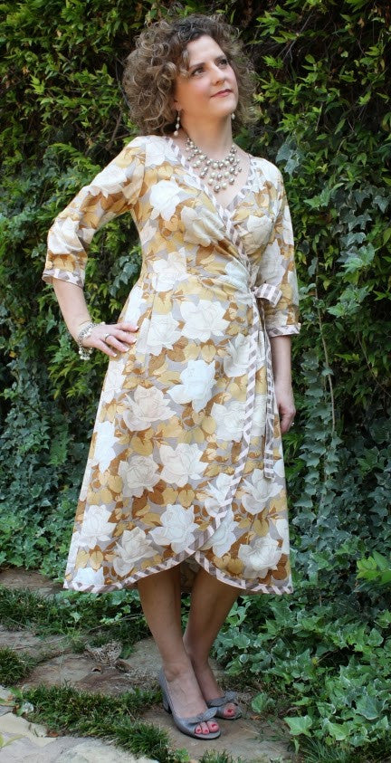 Serendipity Studio Ramona Wrap Dress Sewing Pattern