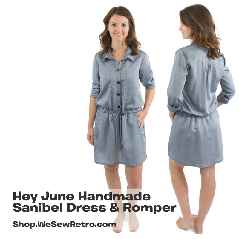 Hey June Sanibel Dress & Romper PDF Sewing Pattern