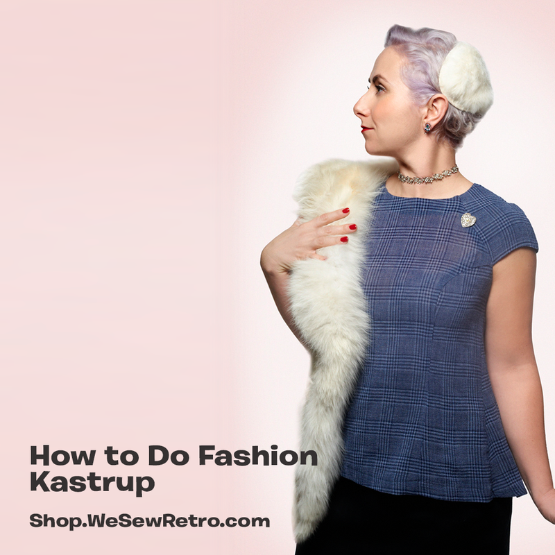How to do Fashion Kastrup Blouse PDF Sewing Pattern