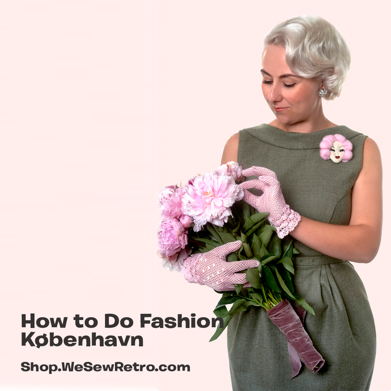 How to Do Fashion København Dress Paper Sewing Pattern
