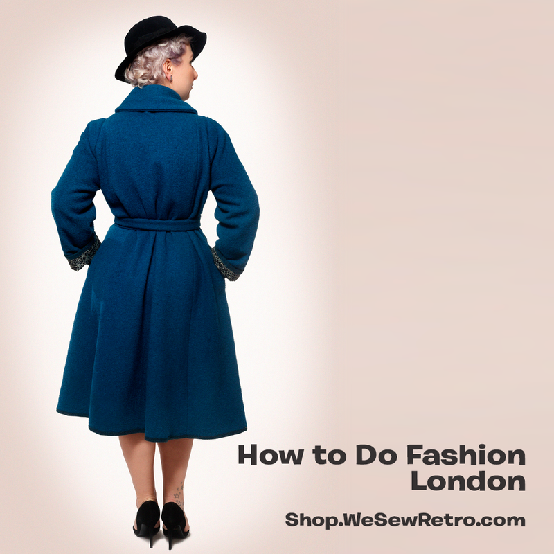 How To Do Fashion London Coat PDF Sewing Pattern
