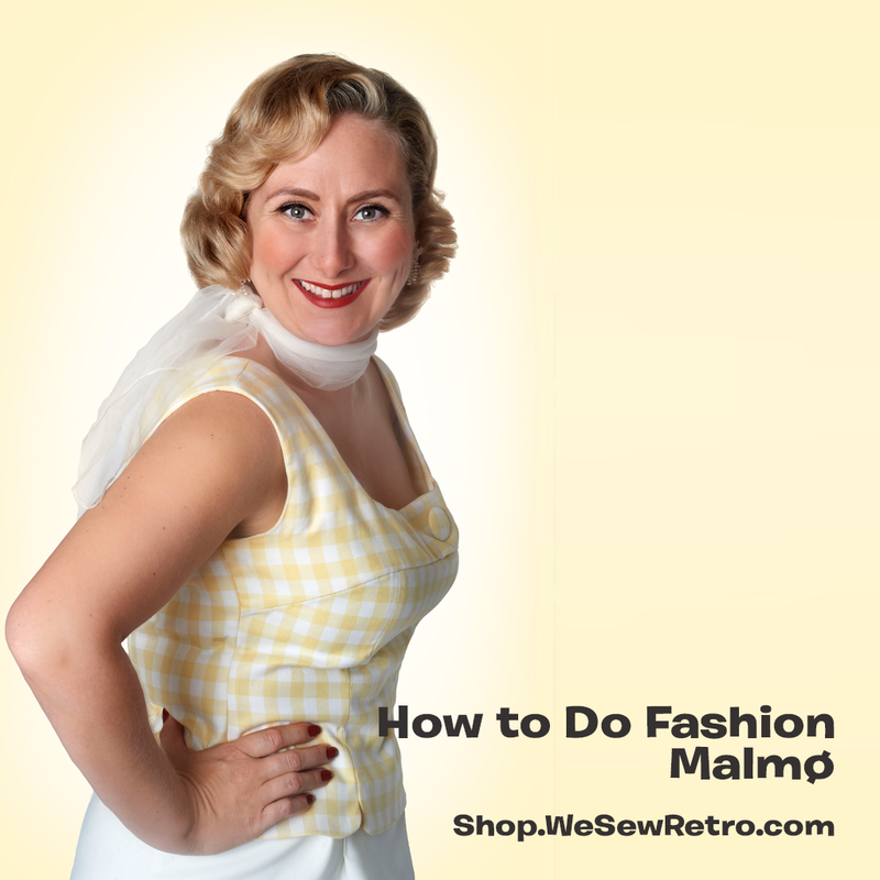 How to do Fashion Malmø PDF Sewing Pattern