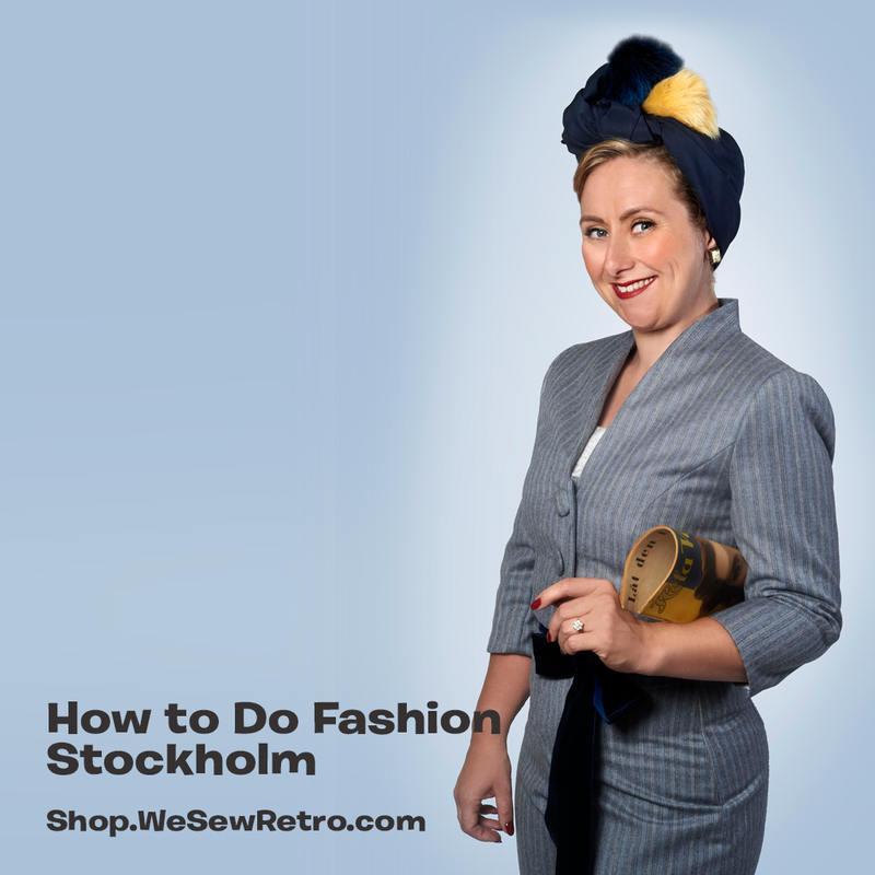 How to do Fashion Stockholm Jacket PDF Sewing Pattern