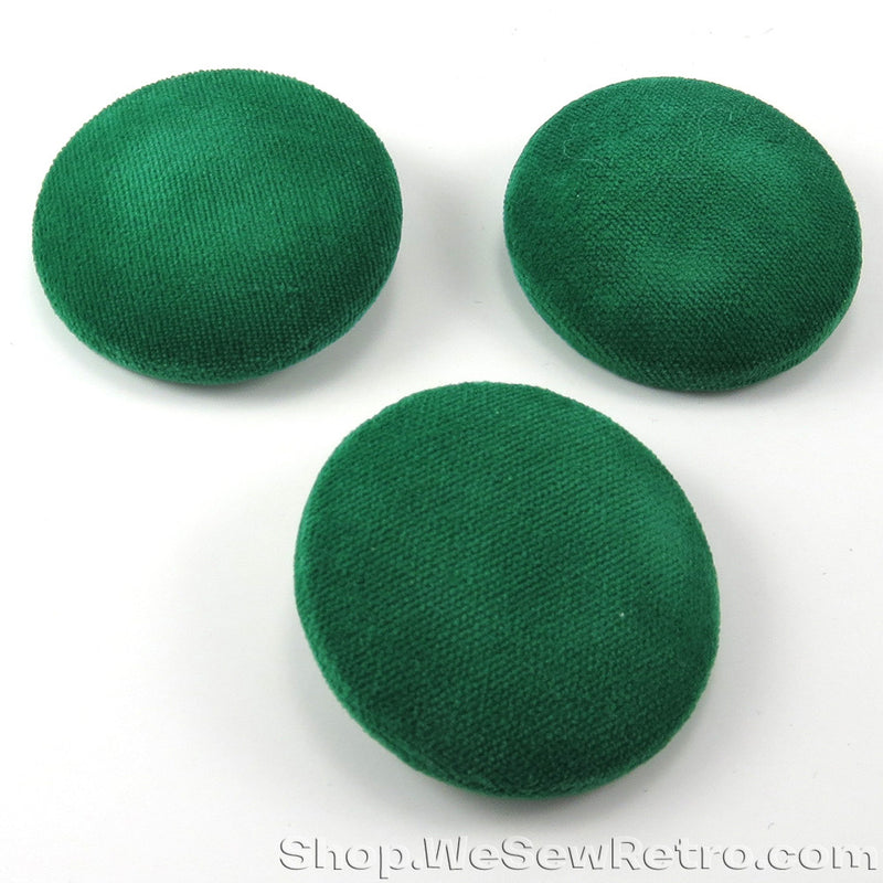 Giant 1960s Green Buttons