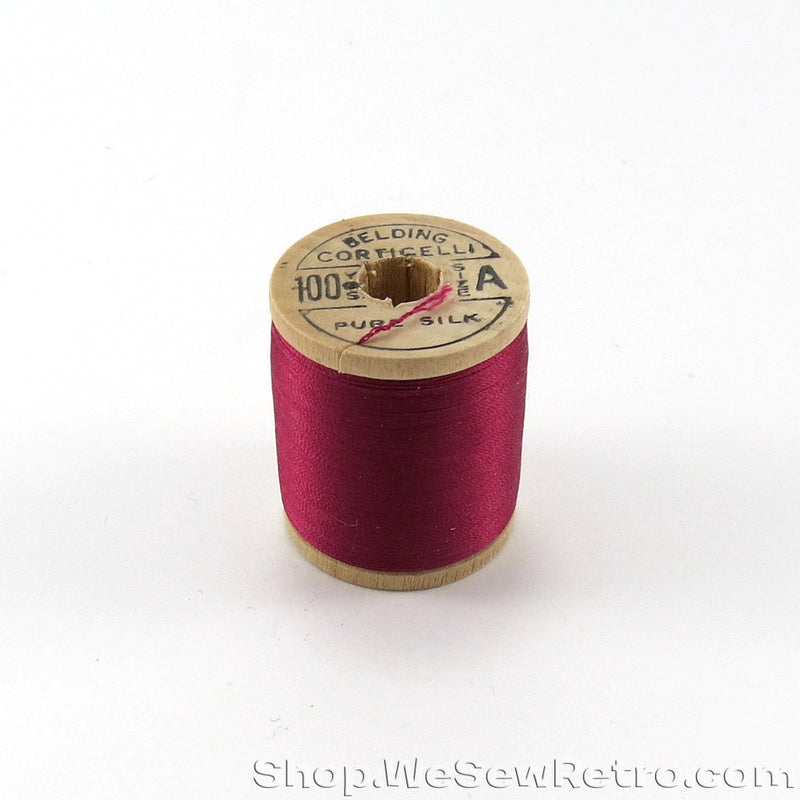 4867 Belding Corticelli Silk Thread on Wooden Spool 100yds
