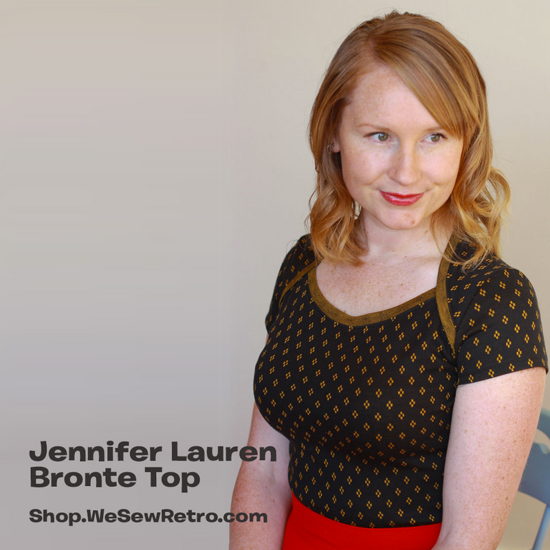 Jennifer Lauren Bronte Top PDF Sewing Pattern