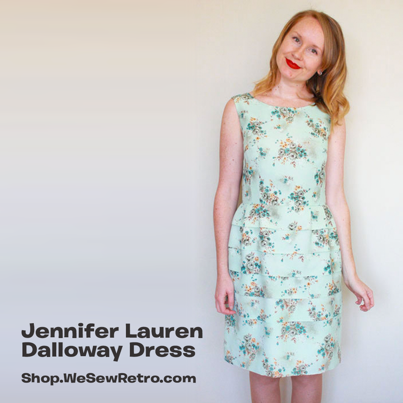 Jennifer Lauren Dalloway Dress PDF Sewing Pattern