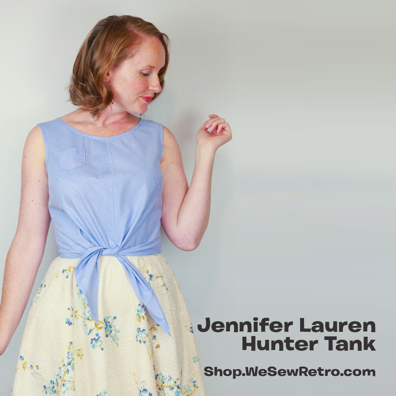 Jennifer Lauren Hunter Tank PDF Sewing Pattern