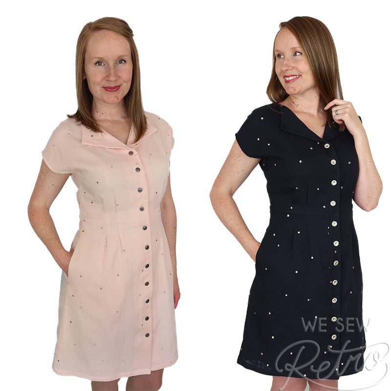 Jennifer Lauren Sorrel Dress PDF Sewing Pattern