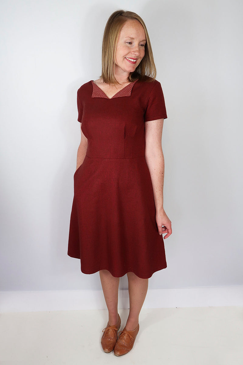 Jennifer Lauren Laneway Dress Pattern PDF
