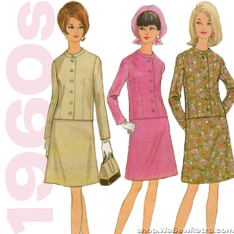 "1960s Vintage Sewing Pattern. Jacket and Skirt. McCalls 8647. 31"" Bust"