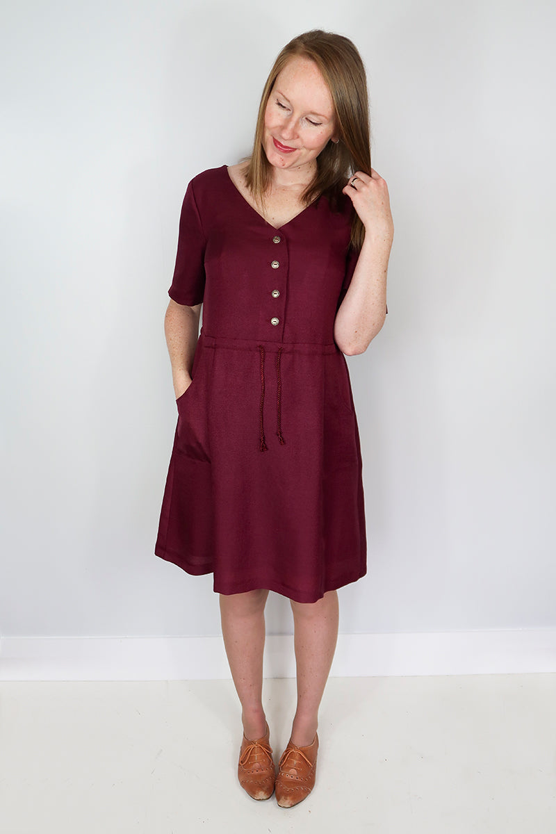 Jennifer Lauren Quincy Dress PDF Sewing Pattern