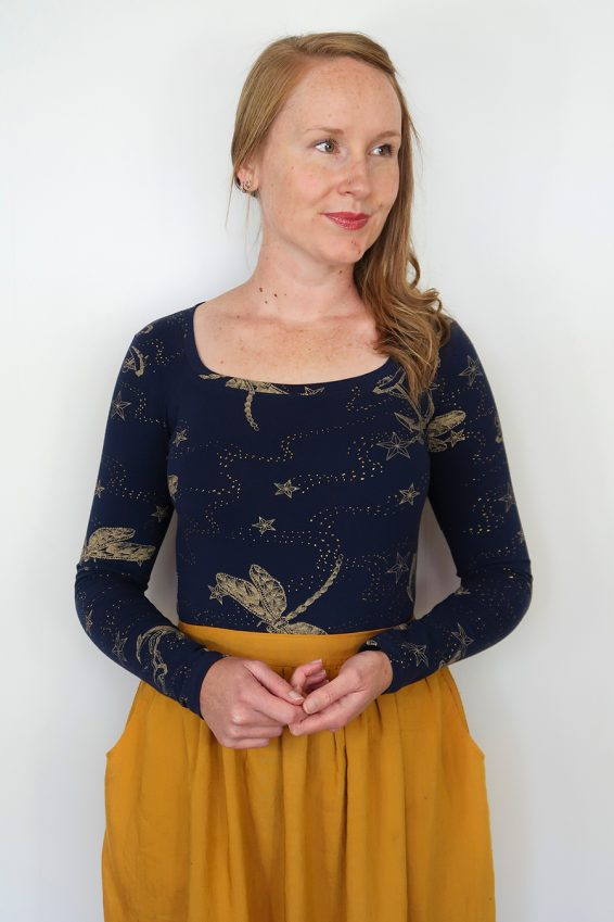Jennifer Lauren Ostara Top PDF Sewing Pattern