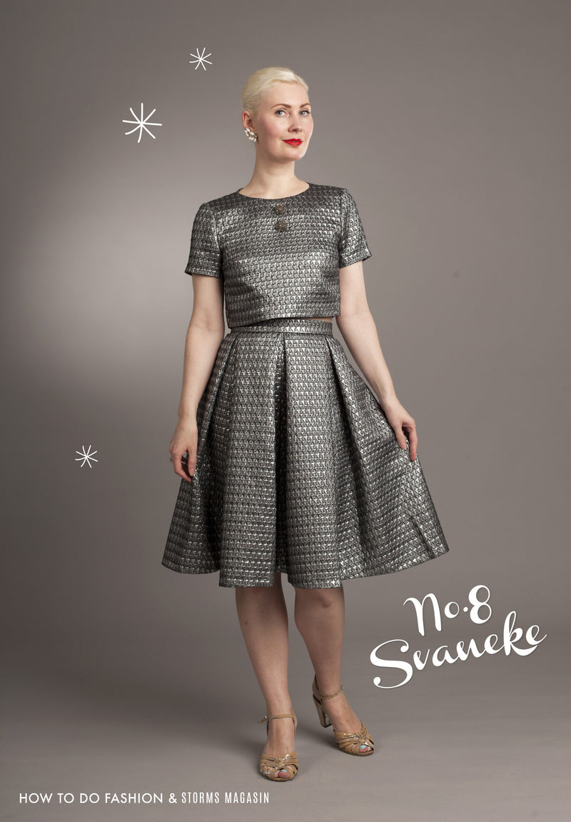 How to do Fashion Svaneke Dress PDF Sewing Pattern
