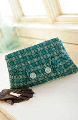 Coronation Clutch Sewing Pattern from Indygo Junction