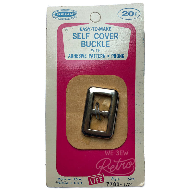 "Vintage Cover Your Own Buckle - 1/2"" - Style 7780"