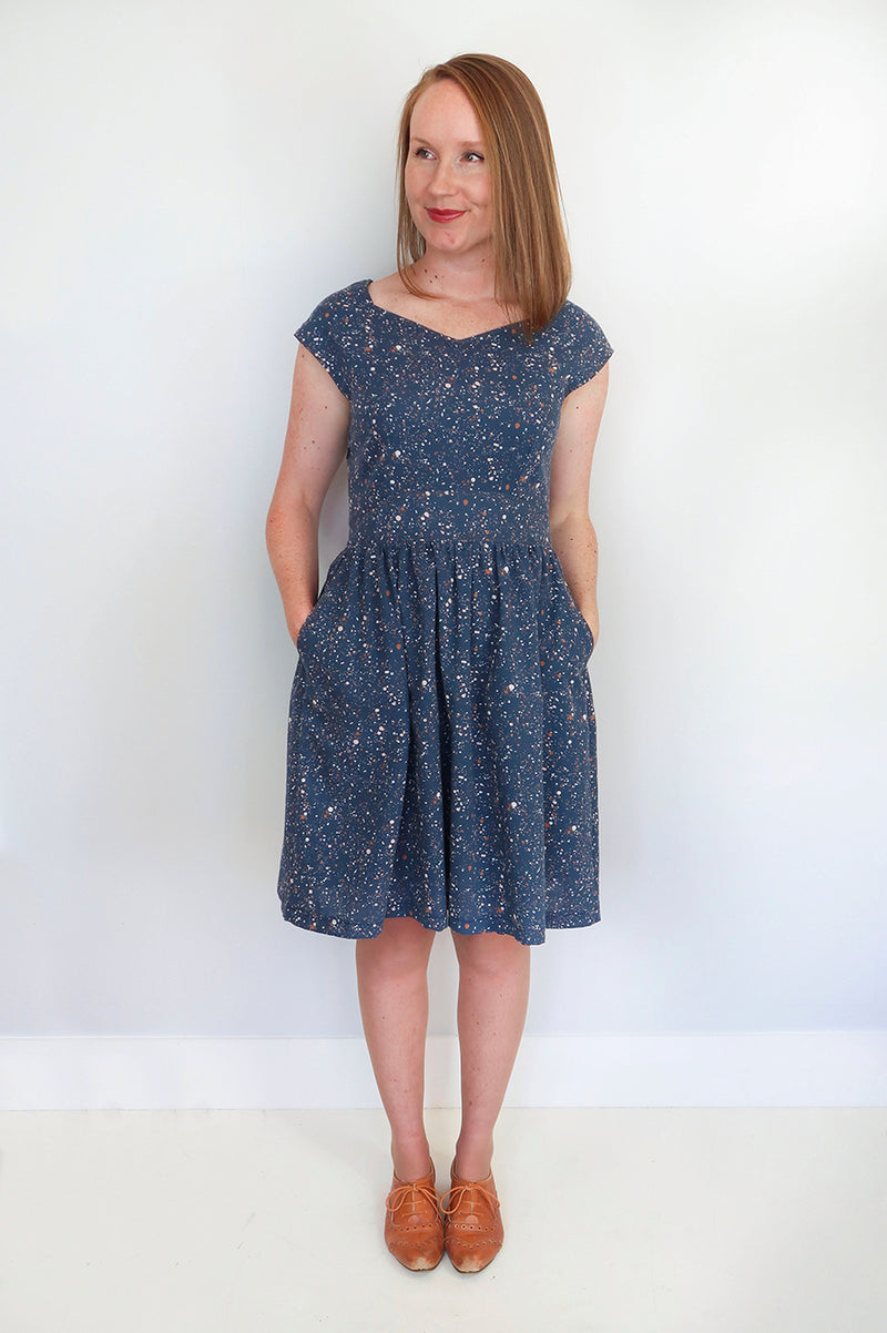 Jennifer Lauren Raine Dress PDF Sewing Pattern